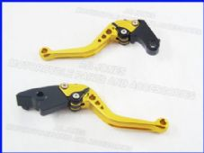 Honda CBR929RR (00-01), CNC levers set short gold F29/H626